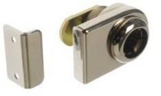 Glass door lever lock for glass thickness 4-10 mm