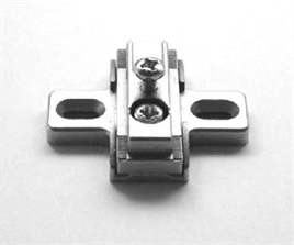 Mounting plate adjustable _+ 7,5
