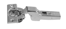Concealed hinge clip 110o 8 mm, half overlay, with soft closing