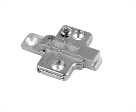 Mounting plate clip adjustable 0mm