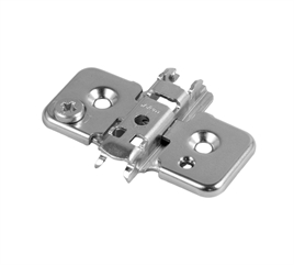 Mounting plate, MODUL, for screw fitting, adjustable 3 mm