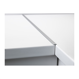 Connecting rail for worktop